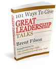 101 Ways to give Great leadership Talks
